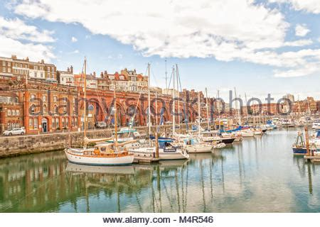Free Boats In Kent by Boats In Ramsgate Harbour Kent Stock Photo