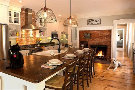 Kitchen Fireplace Design Ideas by Trends Give Your Kitchen A Sizzling Makeover With A