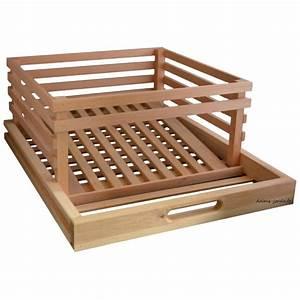 Garde Manger En Bois : tiroir pomme de terre en bois pour l gumier garde manger ~ Teatrodelosmanantiales.com Idées de Décoration