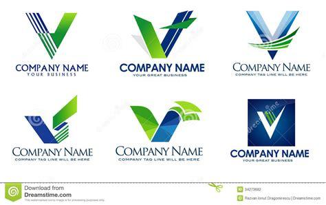 V Logo Stock Illustration. Image Of Active, Perspective
