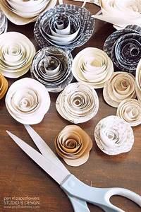 pen paper flowers diy paper flowers snap