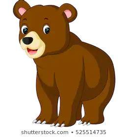 bear cartoon stock vector royalty   bear