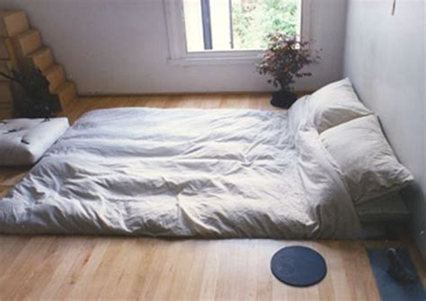 japanese floor bed quot entirely sunken bed with storage and invisible 2036