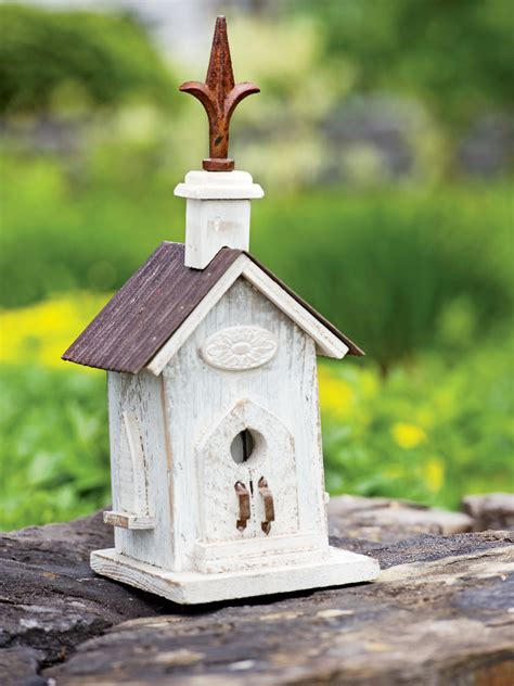 white barn wood bird house unique bird houses