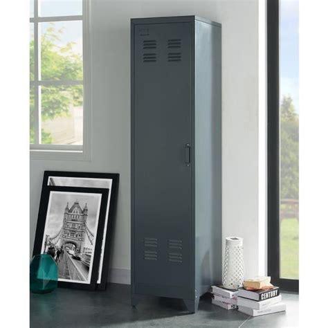 camden armoire vestiaire industriel gris foncé l 43 cm