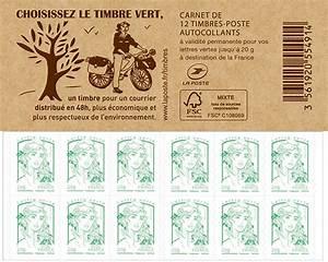 Poids Courrier Timbre : carnet de 12 timbres marianne vert couverture le timbre vert boutique particuliers la poste ~ Medecine-chirurgie-esthetiques.com Avis de Voitures