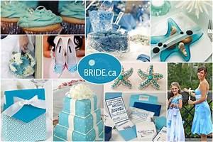 bride ca Wedding Colour Themes: Ocean Blue