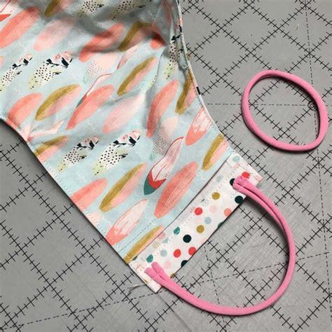 versatile face mask pattern  tutorial  crafty quilter