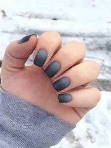 Ombre Matte Nails | Walks, Design and Nail design
