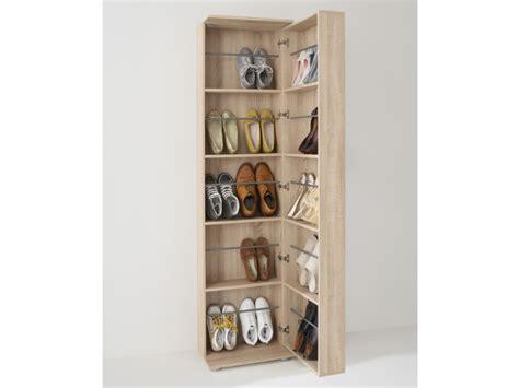 etagere bureau conforama meuble à chaussures 1 porte 1 miroir 20 paires walker