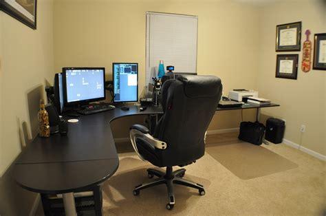 bureau gamer ikea home office gaming setup workstation setups