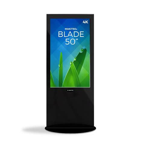 makitso blade   digital signage kiosk makitso