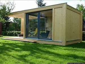 Gartenhaus Mit Glasfront : besondere gartenh user aus holz modernes gartenatelier ~ Markanthonyermac.com Haus und Dekorationen
