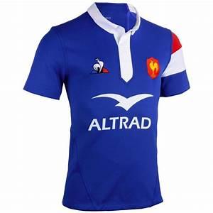 Maillot Rugby A 7 : maillot de rugby replica ffr xv de france domicile adulte bleu 2019 coq sportif decathlon ~ Melissatoandfro.com Idées de Décoration