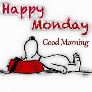 Good Morning Snoopy : happy monday good morning snoopy quote pictures photos and images for facebook tumblr ~ Orissabook.com Haus und Dekorationen