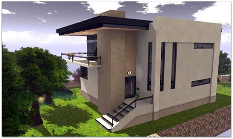 Concrete Block House Small Modern Concrete House Plans