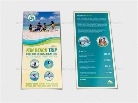 Dl Brochure Template by Tour And Travel Dl Size Flyer Template By Owpictures