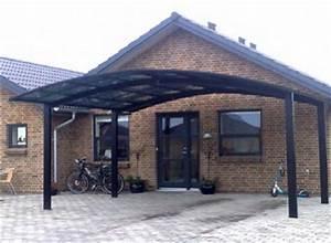 Carport 2 Voitures Alu : carport en aluminium novoferm toit polycarbonate fum haut de gamme ~ Medecine-chirurgie-esthetiques.com Avis de Voitures