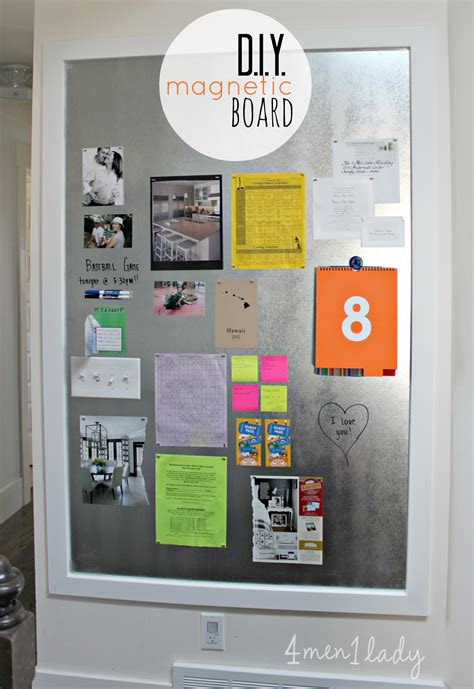 magnetic board for kitchen diy magnetic board 7315
