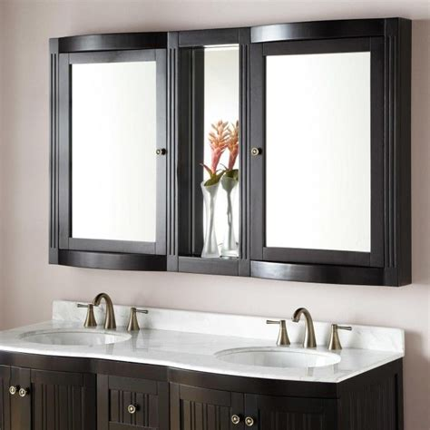 Large Bathroom Cabinets With Mirror by 60 Quot Palmetto Medicine Cabinet The Vainglorious Vanity