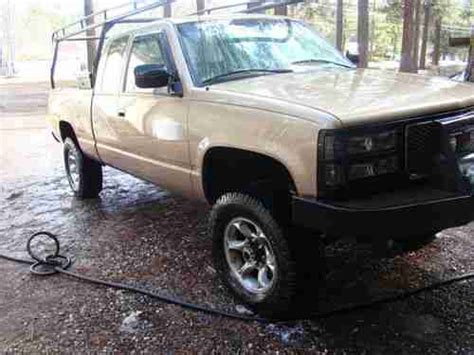 small engine service manuals 1994 gmc vandura 2500 user handbook find used 1994 gmc 2500 solid axle nv4500 five speed in portola california united states for
