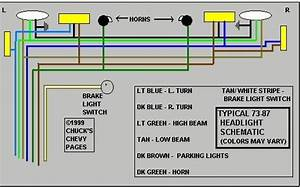 1972 C10 Headlight Wiring Diagram
