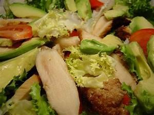 Salade Poulet Avocat : salade de poulet l 39 avocat ~ Melissatoandfro.com Idées de Décoration