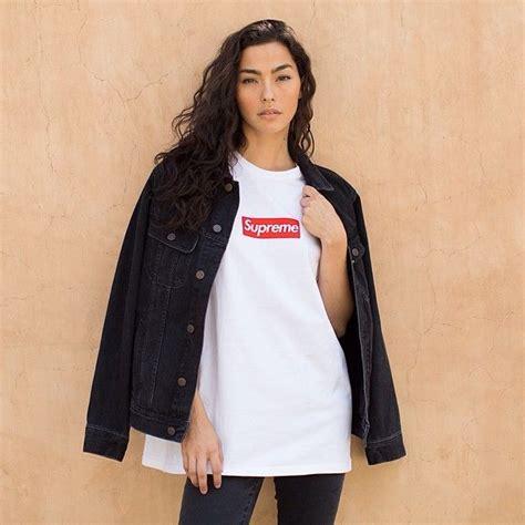 supreme clothing womens supreme box logo adrienne ho supreme box logo
