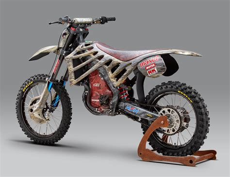 motocross biking mugen debuts an electric motocross race bike asphalt