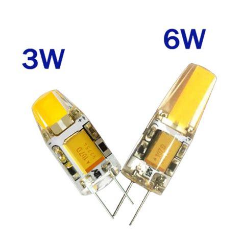 lada led g4 12v g4 cob led l 12v 3 watt dimbaar warm wit