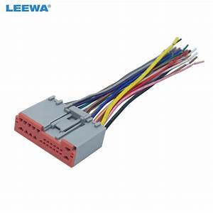 Leewa Car Radio Player Wiring Harness Audio Stereo Wire