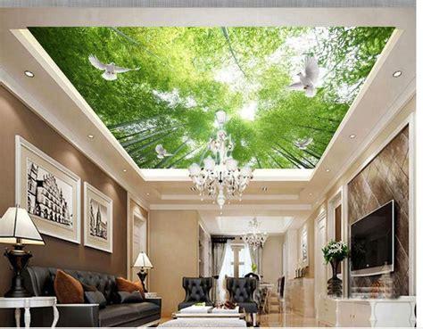 Moderne Tapeten Badezimmer by 3d Angepasst Tapete Badezimmer 3d Tapeten Bambus Wald