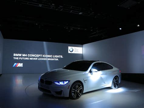 Bmw Unveiled The M4 Concept Iconic Lights Youwheelcom