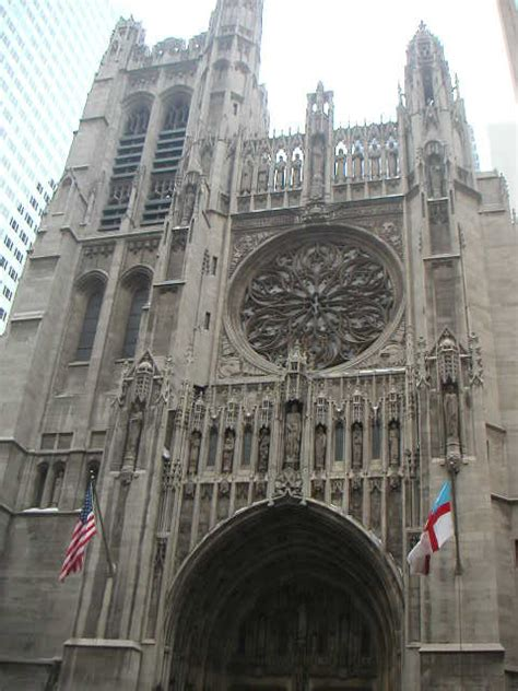 york architecture images st thomas church episc