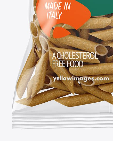 If you want to use this item for another project, please add a new one using your free quota. Whole Wheat Tortiglioni Pasta Frosted Bag Mockup - Another ...