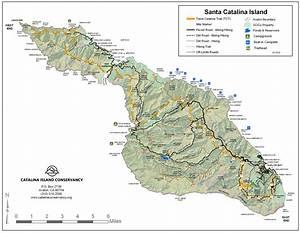 Catalina Island Maps