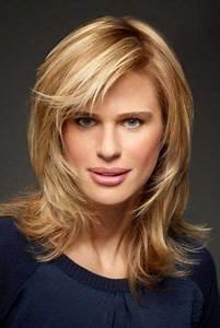 Coupe Mi Long Blond : coupe cheveux mi long femme cheveux fins ha r pinterest ~ Melissatoandfro.com Idées de Décoration