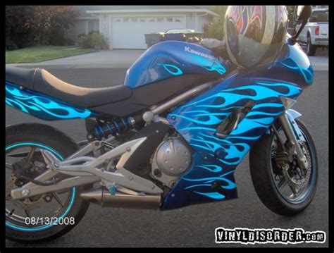 Vinyl Decal And Sticker Applications On Motorcycles