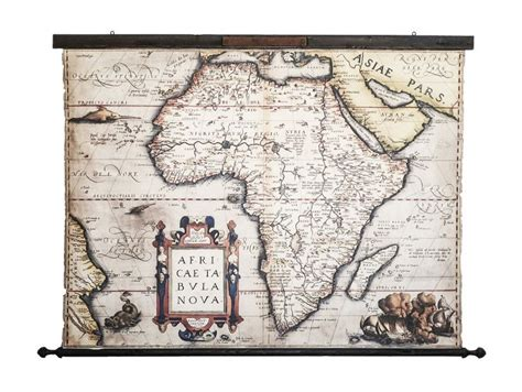 If you were ever looking for baby room ideas or kids bedroom ideas, then you have come to the right place! Africa wall art, Old map 1580, African decor living room ...