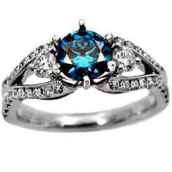 engagement rings with blue mens engagement ring blue 5