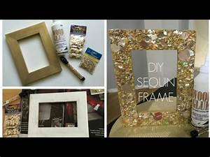 How To Make a Cardboard Photo Frame - Home DIY Room