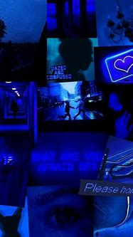 Dark Blue Aesthetic Backgrounds Laptop : Dark Blue ...