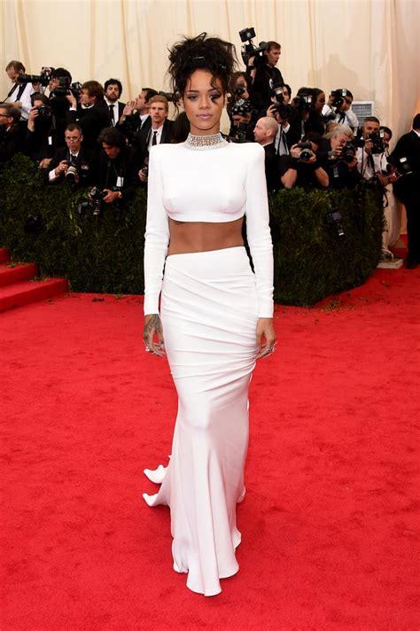 Rihanna at the 2014 Met Gala   Met Gala 2014 Dresses ...