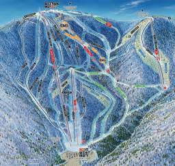 Mont Tremblant Ski Map