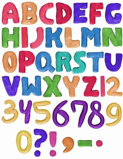 Font Plastilina Alphabet Fonts Plastiline Handmadefont