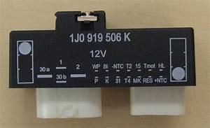 1j0919506k  25 Vw Audi Electric Fan Control Module Beetle