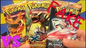 Fake Pokemon X and Y Booster Pack Opening Battle! 1st On ...