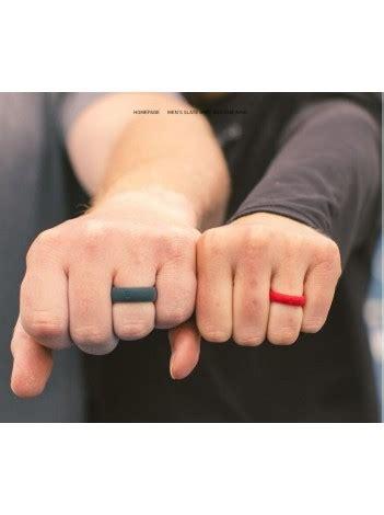men s qalo silicone wedding ring