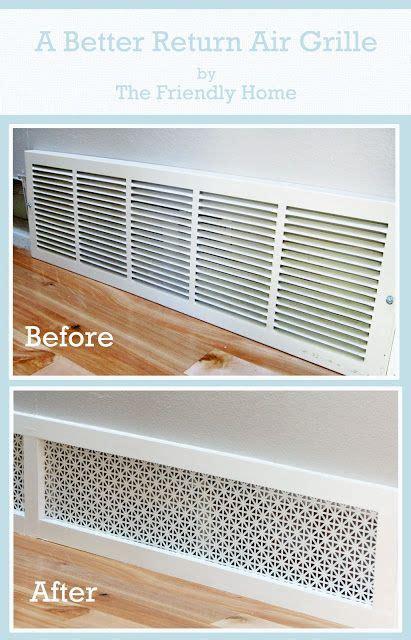 decorative air conditioning return grille best 25 return air vent ideas on air return