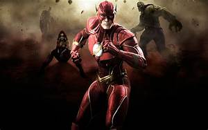 Injustice Gods Among Us The Flash Artwork Wallpapers ...